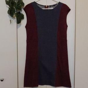 Denim/Knit Dress